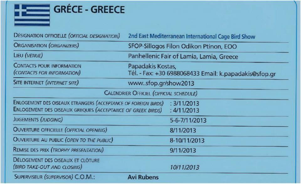 2ο Μεσογειακό COM 2013