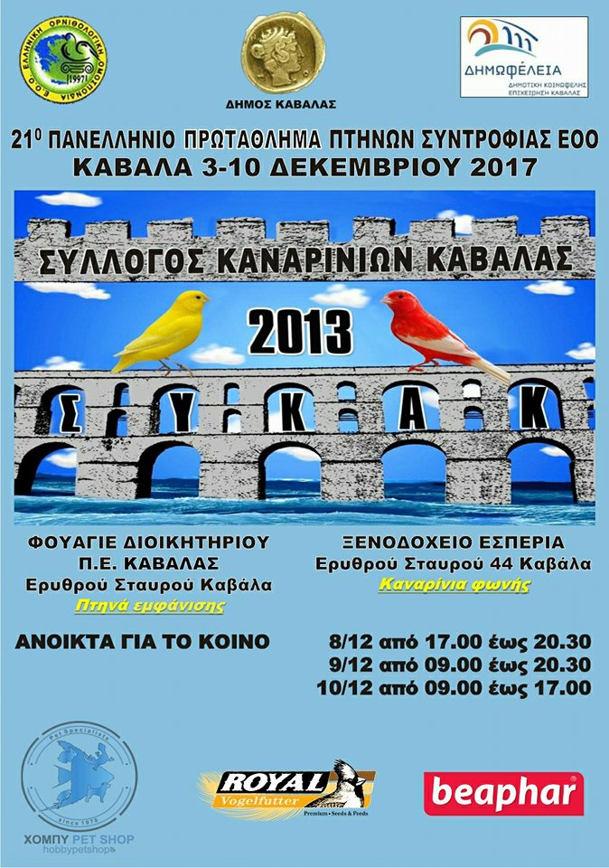 21ος Πανελλήνιος διαγωνισμός ΕΟΟ 2017