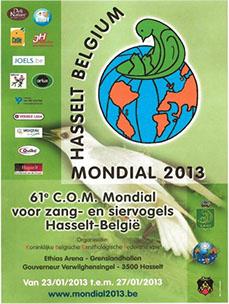 61ο Παγκόσμιο Πρωτάθλημα 2012