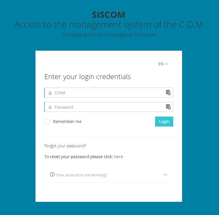 Access SISCOM